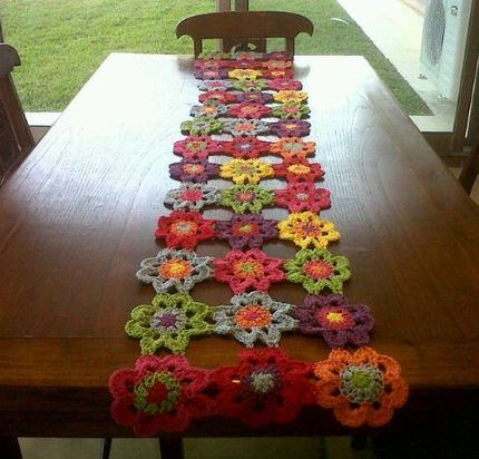 1000 images about caminos de mesa on pinterest mesas for Camino de mesa a crochet