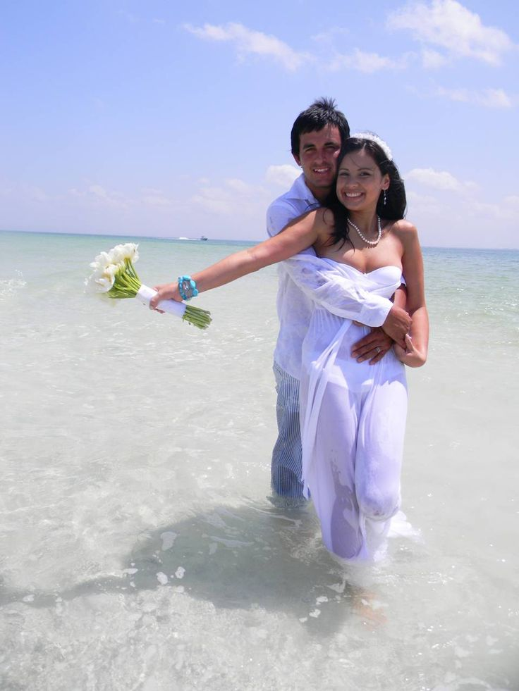Beach wedding a collection of ideas to try about other for Discount wedding dresses tampa