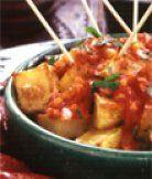 Patatas bravas - španělské recepty