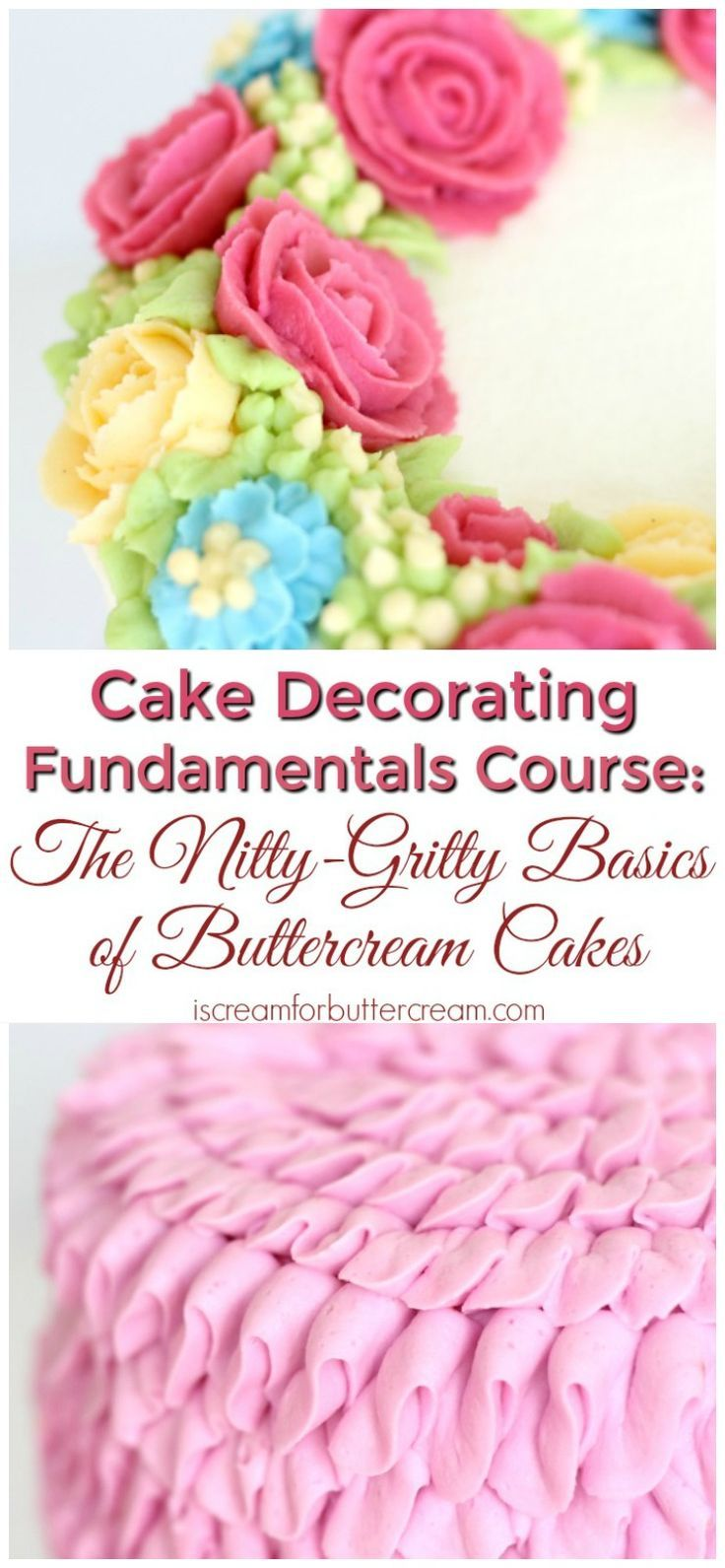 Cake Decorating Course For Beginners : 17 Best ideas about Cake Decorating Courses on Pinterest ...
