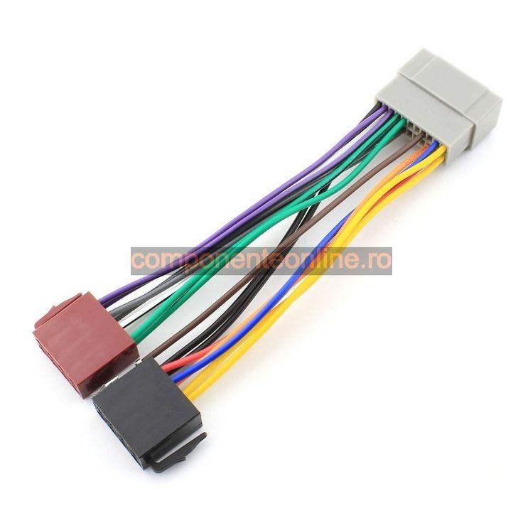 Cablu ISO Chrysler, Jeep, adaptor ISO Chrysler, Jeep, 4Car Media - 000095
