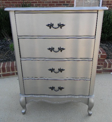 Rustoleum Satin Nickel Spray Paint Furniture Accessories Pinterest Pink Drawers Silver