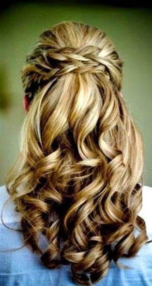 Prom hairstyle | Braids | Long Hair