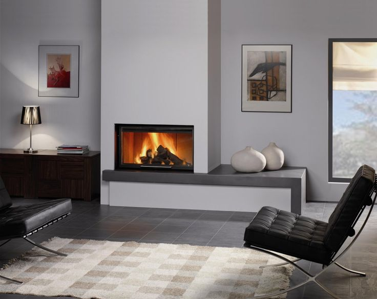 Más de 1000 ideas sobre chimeneas de esquina en pinterest ...