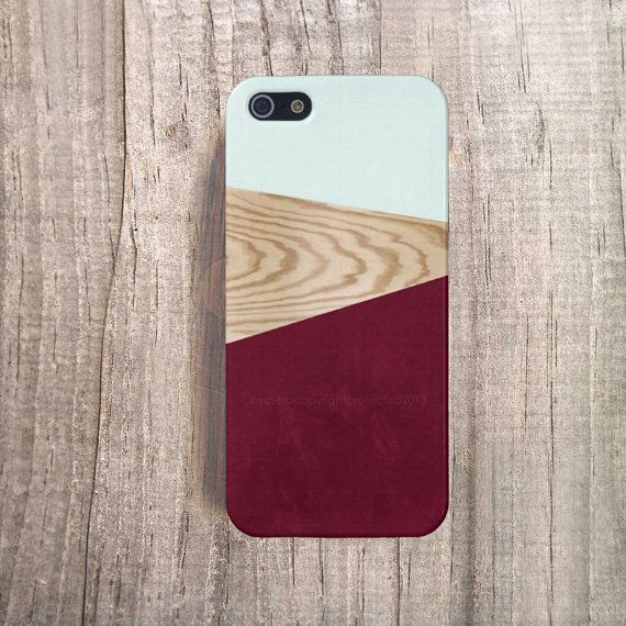 BURGUNDY iPhone Case Wood Print iPhone 4 Case Wood by casesbycsera, $19.99