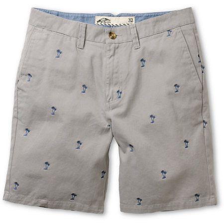 @Vans Dewitt Grey Palm Monogram Shorts | #zumiez
