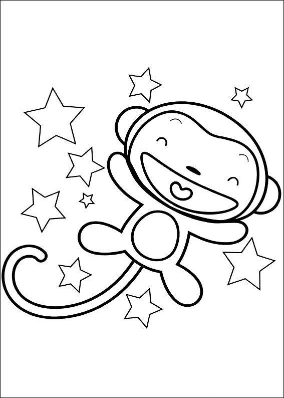 Ni Hao Kai-Lan Fargelegging. Tegninger 15 | Fargelegging | Pinterest
