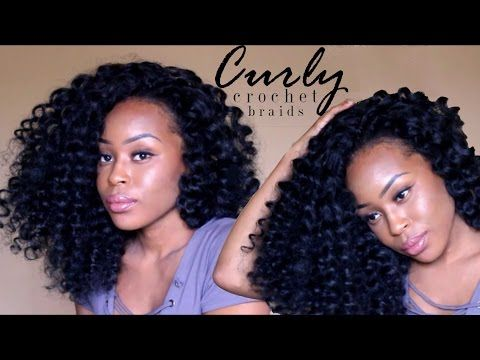 Summer Protective Style Big Curly Crochet Braids No