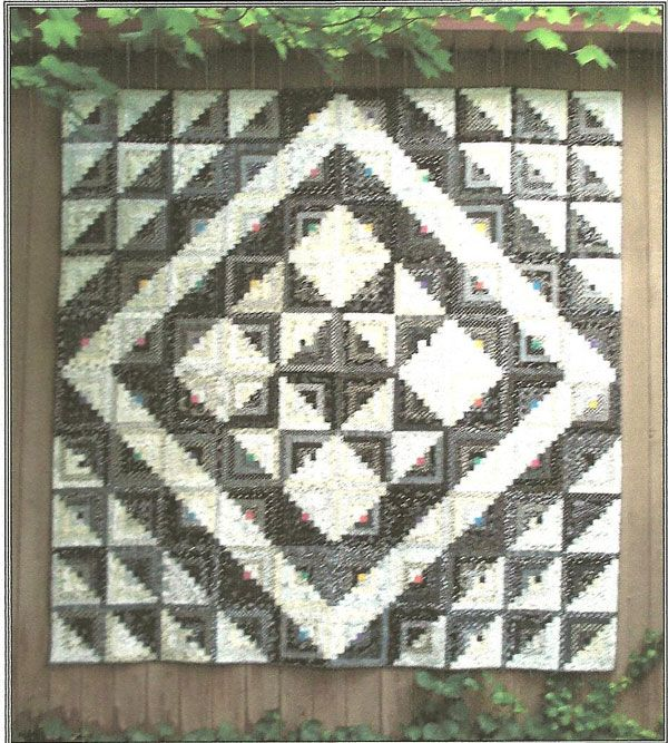 17 Best Images About Log Cabin Quilt Layouts On Pinterest