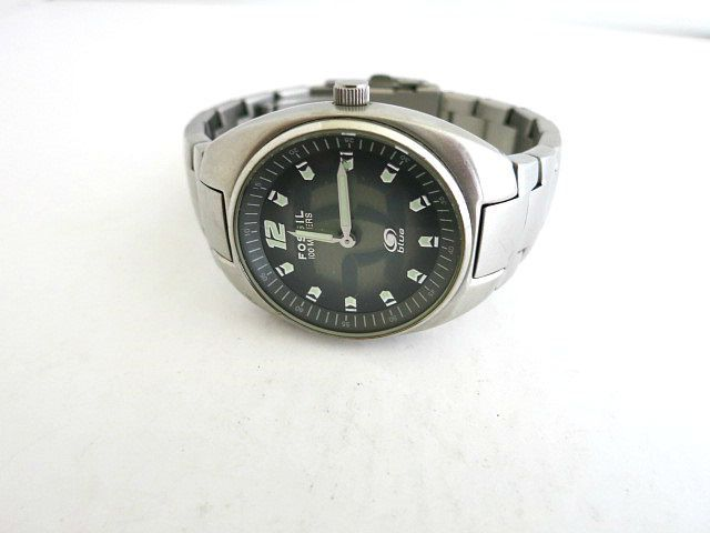 Fossil Big Tic Men's Watch Silver Tone by ediesbest on Etsy