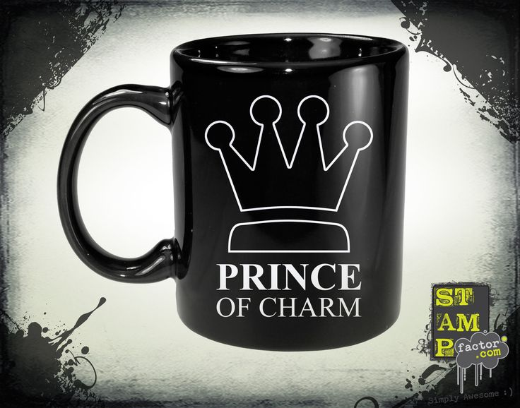 I Am The Prince (Ghost White) 2014 Collection - © stampfactor.com *MUG PREVIEW*