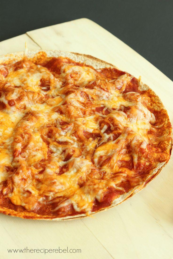 Hawaiian Pizzadillas - The Recipe Rebel