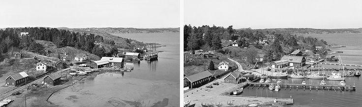 Kungsviken, 1954 och 2001