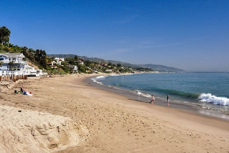 The Malibu Coastline, CA - Malibu is the iconic California beach town, but it's more residential than touristy. Casa Malibu Inn is the only hotel we can recommend in the area, but you'll find nice beach houses for rent through California Vacation Rentals.