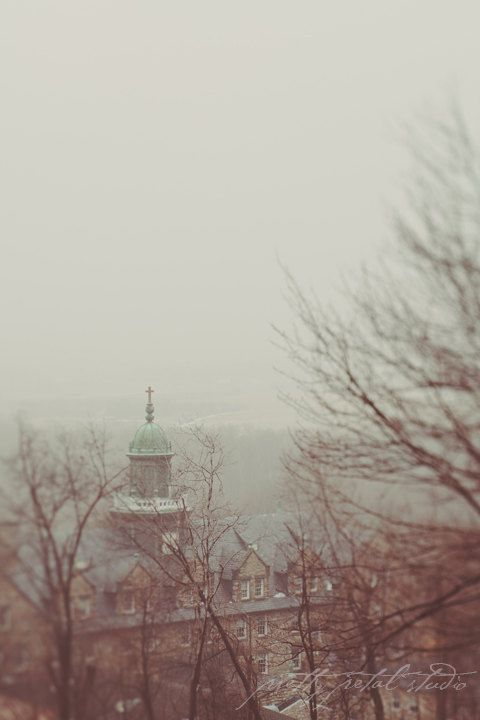 Fine Art Photograph Mount St. Mary's University, MD by PrettyPetalStudio on Etsy