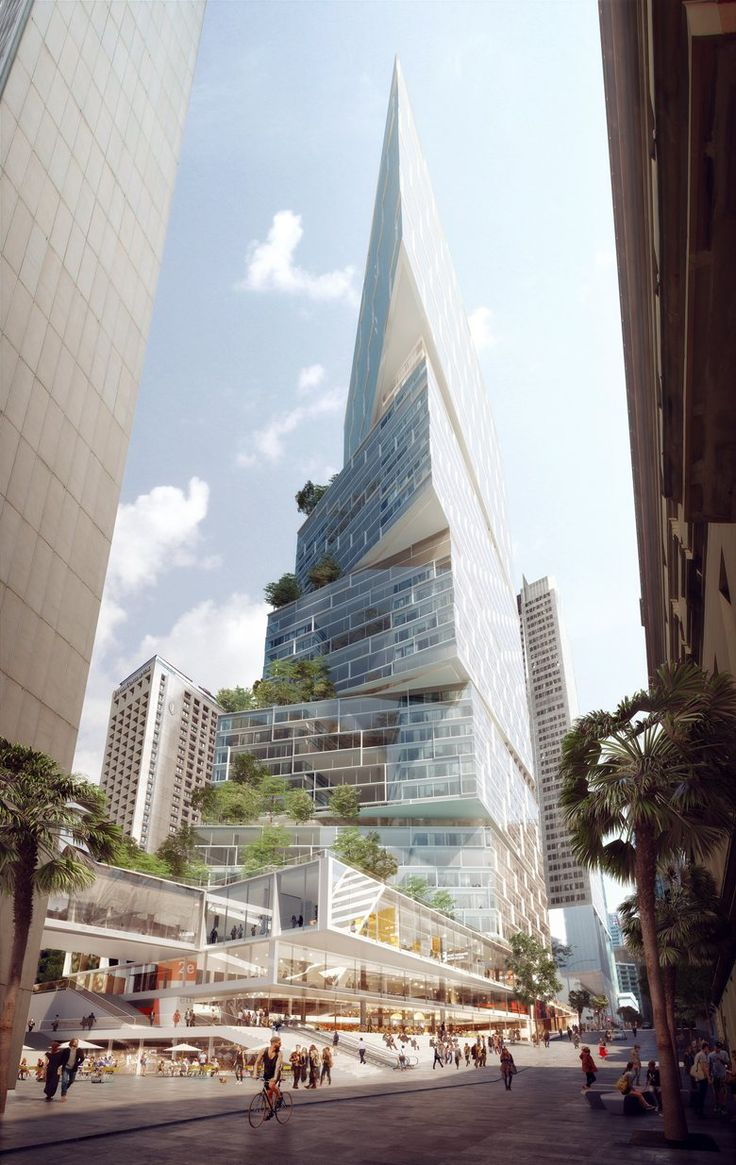 Spruce street beekman tower by frank gehry page 317 - 3xn Wins Approval For 200 Meter Tower In Sydney