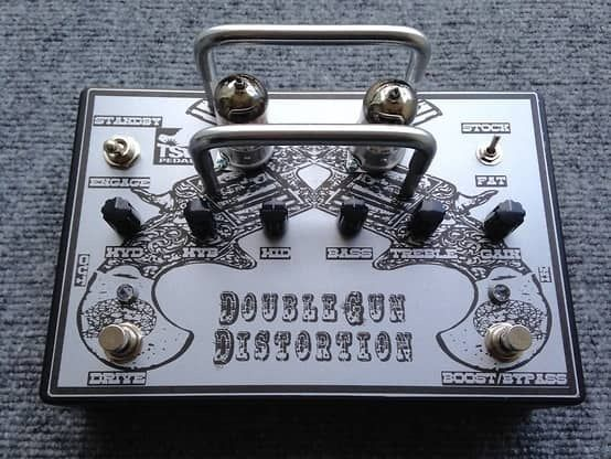 TSW Double Distortion  2016 silver custom boutique