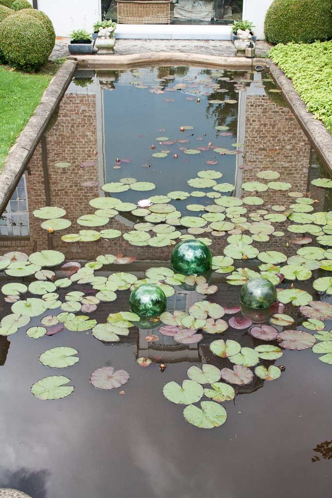 Oude Glazen Boeien uit China - Aziatische Tuin en Interieurdecoratie