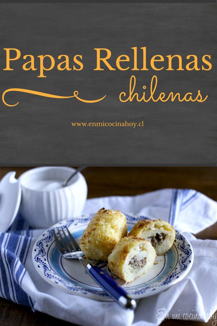 Esta receta de papas rellenas al horno es la versión popular en Chile. Una receta deliciosa que me trae muchos recuerdos.