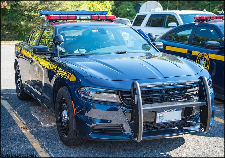 New York, New York State Police Dodge Charger vehicle
