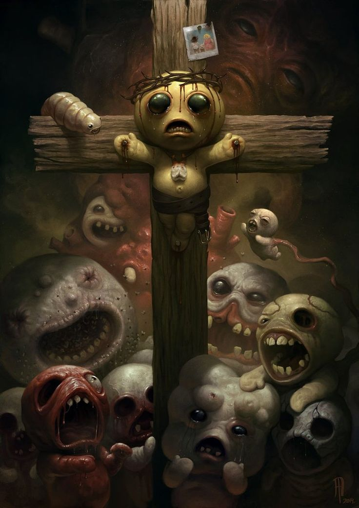 The Binding of Isaac by SpineBender on deviantART_what the f...!!!!!!!