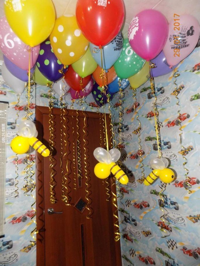A co te pszczółki takie? #pszczółki #impreza #balony