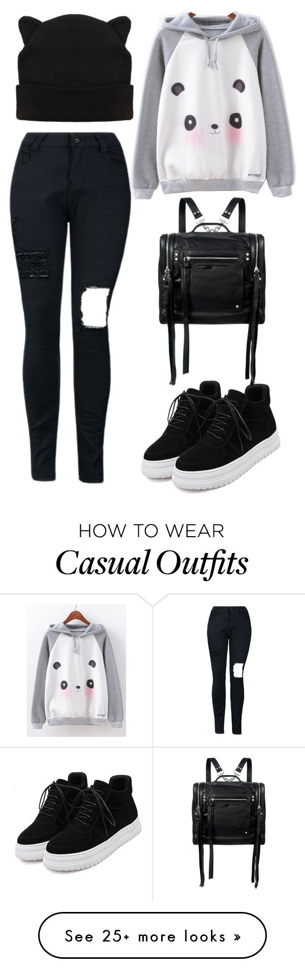 """Casual"" by chap15906248 on Polyvore featuring McQ by Alexander McQueen"