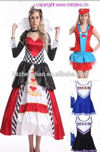 wholesaler 2014 instyles Halloween sexy adult party alice and wonderland costume