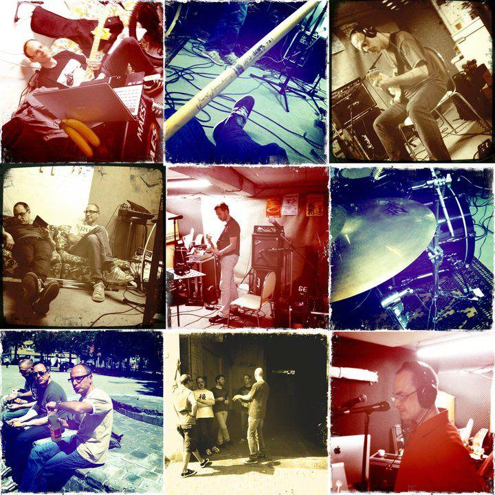Last in Town en studio.