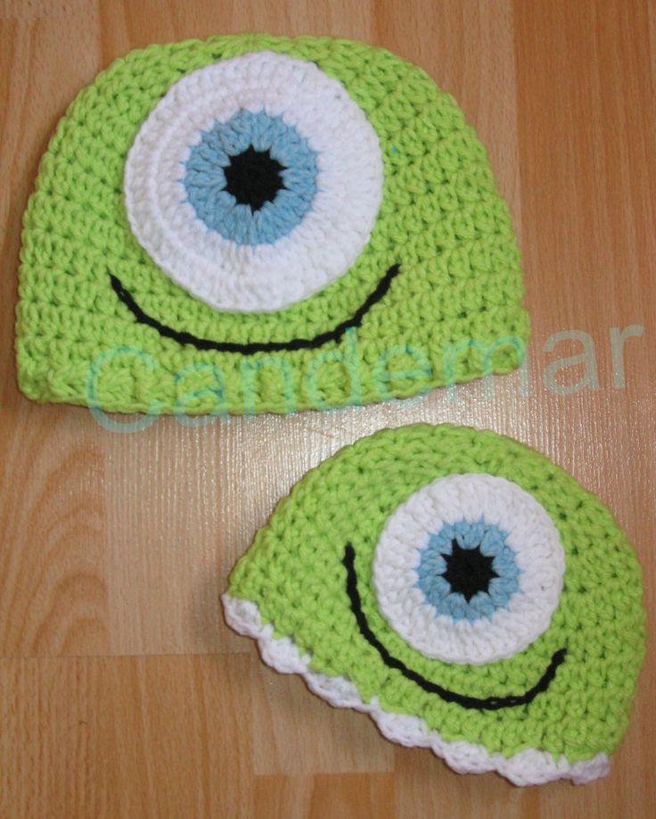 Gorritos Micke Wasauski tejidos a crochet para nenes y nenas