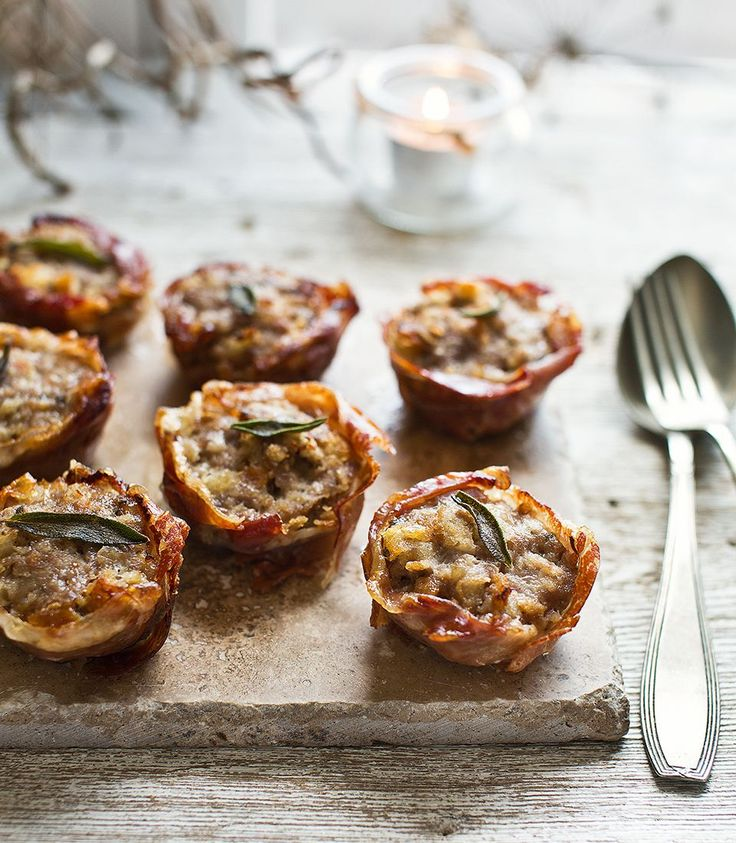 These prosciutto cups take stuffing to the next level – serve them as part of your roast dinner or even as a canapé.