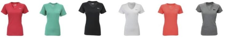 Under Armour Women's UA Tech V-Neck T-Shirt ONLY $15 Shipped {reg. $28} With Code!