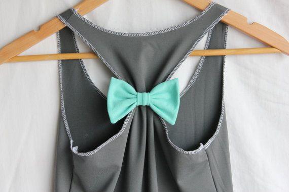 Preppy Style, Fashion, Tanks Tops, Attached Bows, Crafts Night, Hair Bows, Running Shirts, Diy, Dreams Closets