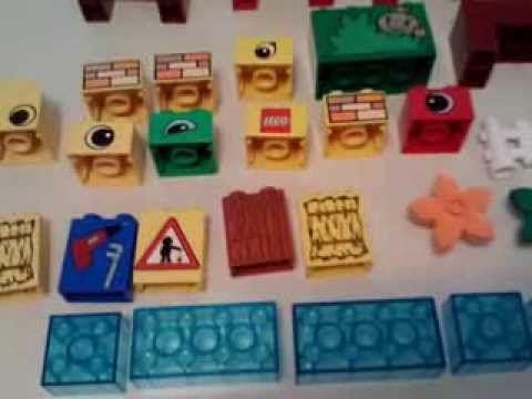 http://youtu.be/HsHCF30InsQ 3+ Boys & Girls #LEGO #Duplo BIG Lot Blocks Figures Animal Pieces Bob Builder Thomas Train RARE 4