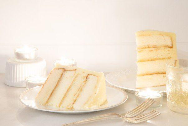 Ванильно-миндальный белый шоколадный торт | Школа шеф-повара