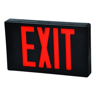 17 best ideas about red led professional headphones morris products led exit sign in red led and black housing battery backup
