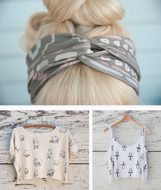 Hairband and shirts