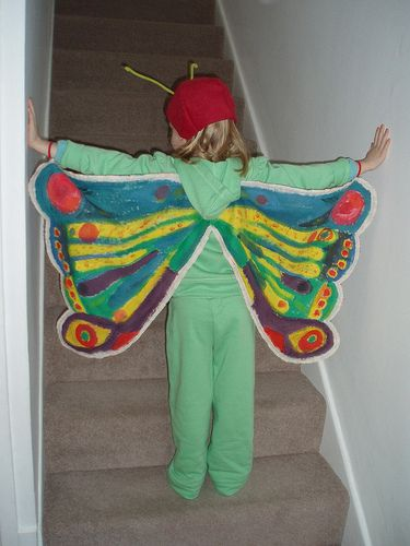 The Very Hungry Caterpillar Butterfly Wings and Headgear. | Flickr : partage de photos !