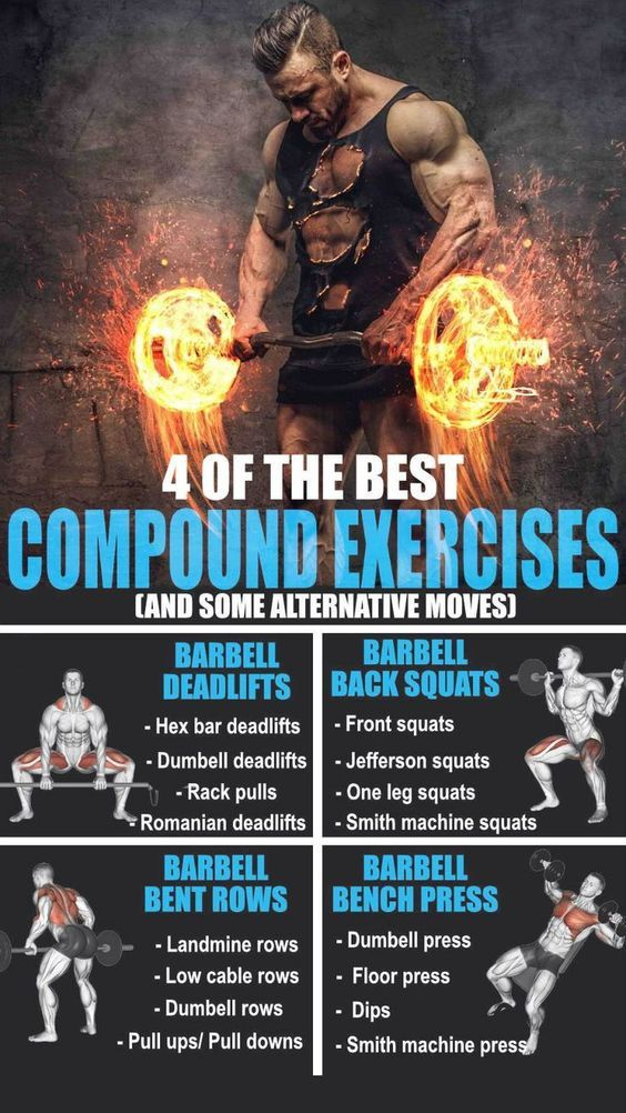 🚨4 OF THE BEST COMPOUND EXERCISES