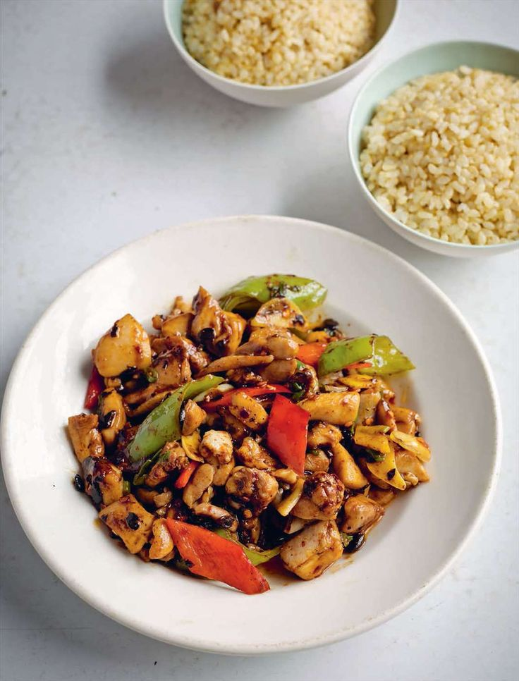 Black bean chicken from Every Grain of Rice by Fuchsia Dunlop | Cooked.com
