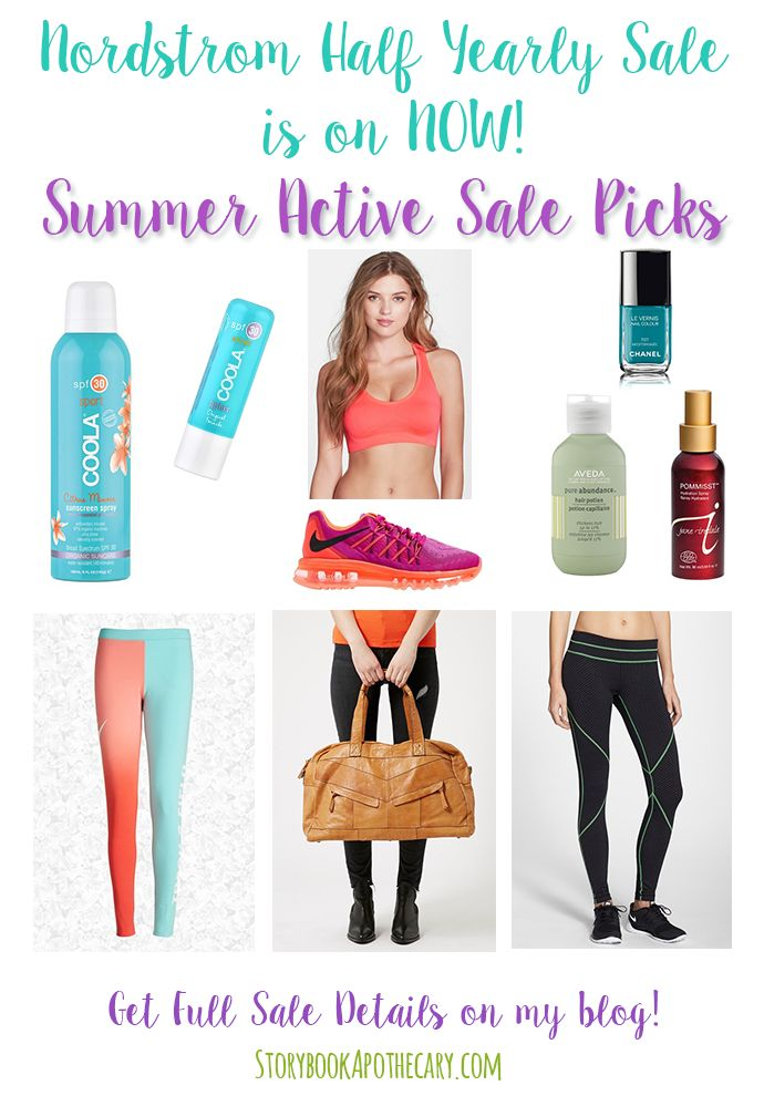 Nordstrom Half Yearly Sale Is On Now! - Summer Active Workout Wear Sale Picks - storybookapothecary.com