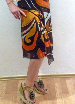 Kupuj mé předměty na #vinted http://www.vinted.cz/damske-obleceni/midi-sukne/11715529-sukne-s-cipy-mexx-retro-styl-s-abstraktnim-vzorem-a-rozparkem-vepredu-jako-nova
