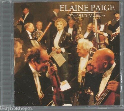 """Elaine Paige """"The QUEEN Album"""" (CD/1988)"""