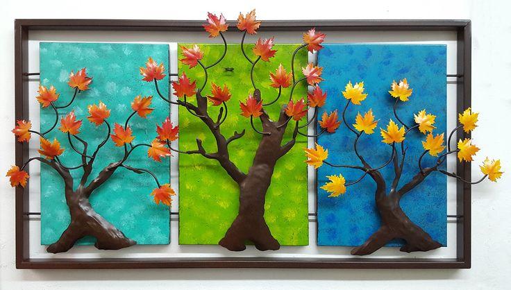 Tríptico, Árboles otoño