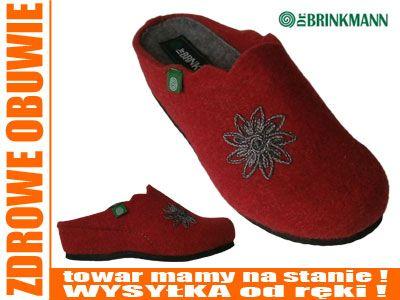 Wygodne lekkie pantofle Dr Brinkmann 330114-4 r 41 (4672421092) - Allegro.pl - Więcej niż aukcje. 41, 26cm
