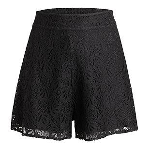 Shorts i spets - Lindex