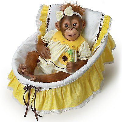 You are my sun Monkey Doll