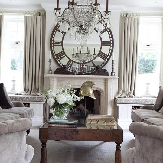 8 Summer Style Living Rooms French Inspired