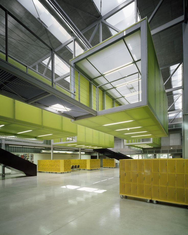 Atrium D Stavební fakulty ČVUT   VYŠEHRAD atelier