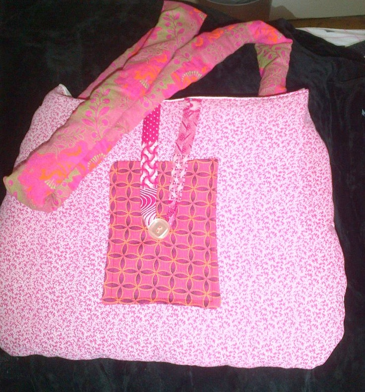 Variety of pink patterned Shweshwe